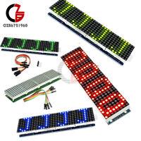 MAX7219 Microcontroller 4 In 1 LEDDisplay 4 Color Line Dot Matrix For Arduino