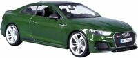 BURAGO 21090G or 21090R AUDI RS 5 COUPE model road cars red or green 2019 1:24th