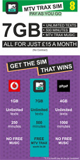 MTV TRAX SIM Card from EE: 7GB data,