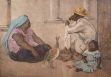 Francisco Zuniga orig litho Familia Indigena II, 1980 Lot 863