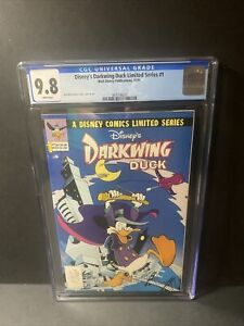 Disney's Darkwing Duck Limited Series #1 CGC 9.8 WHITE PAGES