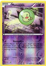 pokemon SW 10 PLASMA BLASTER   REVERSE HOLO KARTE 42/101 MONOZYTO 30 KP