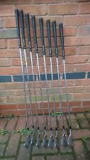Set vintage forged blades irons golf clubs Ben Sayers