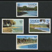 SAMOA 1987 Coastal Scenery. SG 754-757. Mint Never Hinged. (AX142)