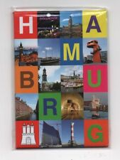Magnet HAMBURG 12 Motive Michel Kühlschrankmagnet Pinnwand Souvenir NEU NT077