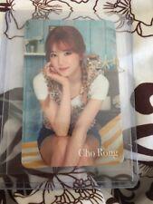 Apink Go!Go! ChoRong Japan JP official Photocard card Kpop K-pop With Top loader