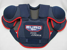 EURO Sport 2000 Youth /Junior Hockey Shoulder Pads Medium Red White & Blue NEW