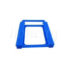 2.5'' to 3.5'' SSD HHD Adapter Hard Drive Universal Plastic Bracket Holder Blue