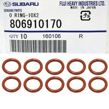 OEM 85-18 Subaru Engine Oil Dipstick Tube Seal SET (10) Impreza Legacy 806910170