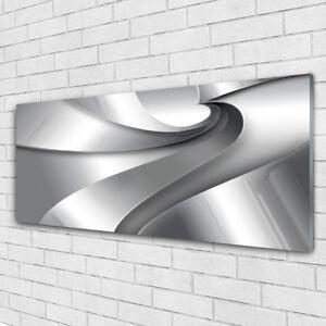 Glas-Bild Wandbilder Druck auf Glas 140x70 Deko Kunst 3D-Abstraktion