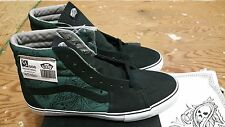 "Vans X Mr. Cartoon Syndicate ""S' Industrial Sk-8 Hi Green 2007 Size 11.5 wtaps"