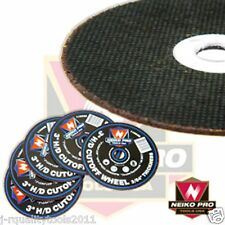 "25 3"" NEIKO PRO USA AIR CUT-OFF WHEELS DISKS 3/64 THICK"