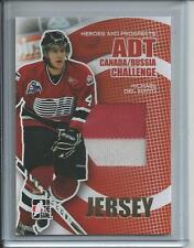 06-07 ITG Heroes & Prospects Canada-Russia Challenge Del Zotto Jersey GOLD 1/1