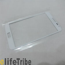 Front Glass Outer Lens Touch Screen for Samsung Galaxy Note i9220 N7000 - White