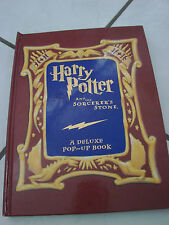 Harry Potter & the Sorcerer's Stone Year 1 by J. K. Rowling (2001,...pop up book