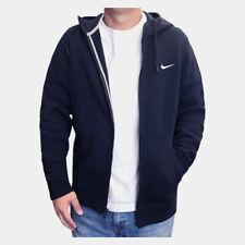 Nike Men's Sportswear Club Fleece Full Zip Navy Hoodie (823531-451) S/M/L/XL/XXL
