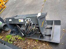 New 72 Land Honor Vibratory Soil Stone Plate Compactor Skid Steer Skidsteer