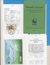WWF Philatelic Passport for Internat Stamp Expo Hong Kong 1997 - 16 pp complete