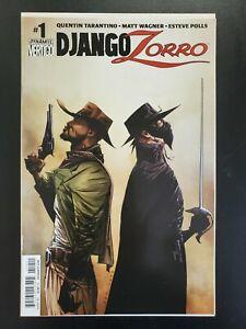 Django / Zorro (2014 Dynamite) #1 Writer Quentin Tarantino, Jae Lee Cover VF