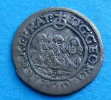 ! Slesia Liegnitz Brieg ARGENTO incrociatore 1652 5 anni in numero = S RRR!!!