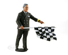 1950-1970's DIRECTOR OF THE COURSE W/ FLAG FIGURE 1/18 LEMANS MINIATURES 180022