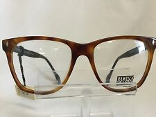 Vintage Luciano Soprani  Eyeglasses Sunglasses Brown Marbled  Black Retro Italy