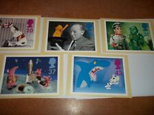 Big Stars from Small Screen  PHQ 182 set Royal Mail Stamp Card Series MINT