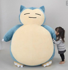 "NEW 55cm/22"" Big Jumbo SNORLAX Pokemon Center Plush Toy Game Doll Pillow"
