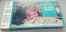 Sesame Street My First Games Off And Running Vintage 1986