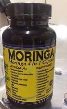 Nueva Moringa 4 en 1 Guanabana glucosamina Uña de Gato en Capsulas Capsules 60