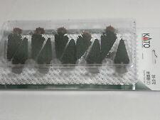 "Kato n gauge ""Conifer Tree Set 1 "" 10pcs 24-072"