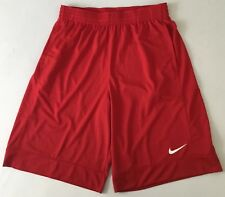 Nike Men's Basketball Shorts (Linerless) 849522 Red Size L