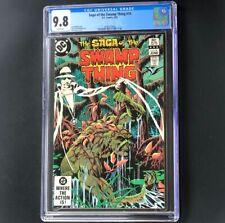 Saga of the Swamp Thing #14 💥 CGC 9.8 - 1 of ONLY 6 💥 DC Comics 1983 Comic