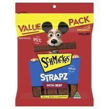 Schmackos Strapz With Beef Dog Treats 500g