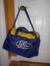 Vintage NIKE Duffle Bag Purple Gold 18 x 11 NWT