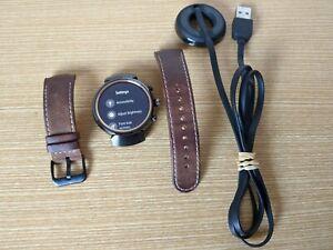 Asus Zen Watch 3 - 1.39 Inch Gunmetal Leather Strap WI503Q