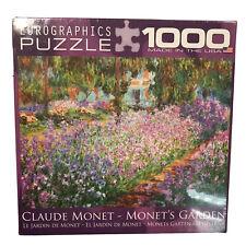 EuroGraphics Monet's Garden Jigsaw Puzzle (1000-Piece) New Sealed Art Artist