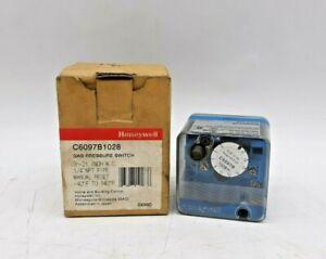 Honeywell C6097B1028 Gas Pressure Switch