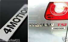 4 MOTION New Emblem Badge Sticker Chromed ABS Logo Touareg Golf Passat Tiguan