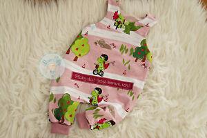 ♥ Baby-Strampler, Gr. 74, handmade Unikat, Babygeschenk, Drache, rosa ♥