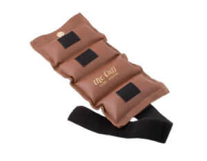 The Cuff Original Ankle and Wrist Weight - 10 lb - Brown