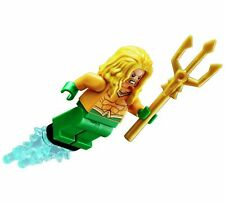 Lego DC Justice League Aquaman Minifigure Yellow Hair from Set 76116 unassembled