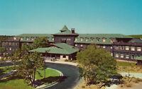 Chrome Postcard A744 Grand Canyon National Park AZ Hotel El Tovar Fred Harvey