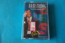"LOUIS ARMSTRONG ""SATCHMO 2 "" MC K7 TAPE VERVE SEALED"