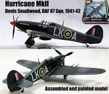 WWII Hurricane Mk II 87 Sqn lead Denis Smallwood 1/72 finished Easy model plane