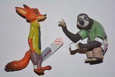 Bullyland Disney Zootropolis / Nick Wild & Flash 2-er Set 13170+13174 Zoomania