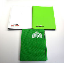 2 ULTRA PRO + 1 Dragon Hide  MAGIC PRO-BINDER 9-POCKET PORTFOLIO Used 20 sheets