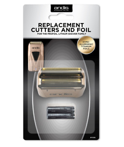 Andis ProFoil #17230 COPPER Replacement Foils and Cutter Bars for Shaver #17220