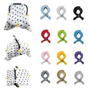 Baby Stroller Accessories Stroller Cover Clip Blanket Toy Windproof  Pegs Hook J