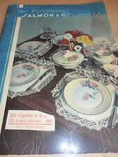 catalogue de porcelaines de limoges